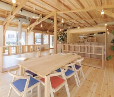 画像:「はぐくみの木の家」リフォーム館