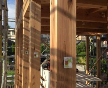 画像:国産木材にこだわる