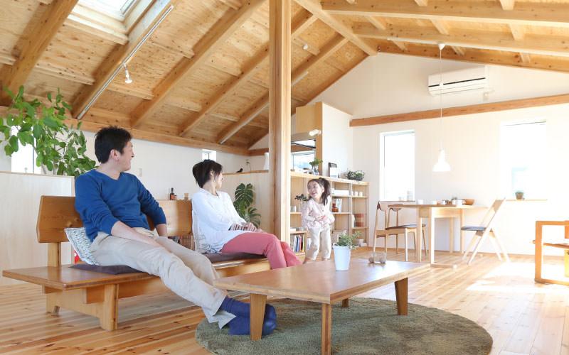 画像:はぐくむ、木の家、いいくらし。